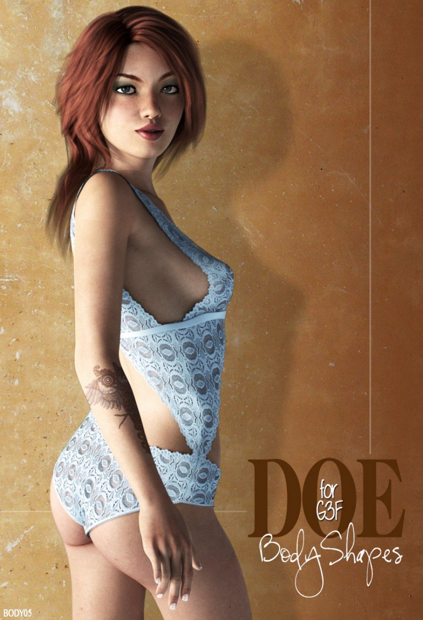 Daughters of Eve (Body) for G3F_DAZ3D下载站