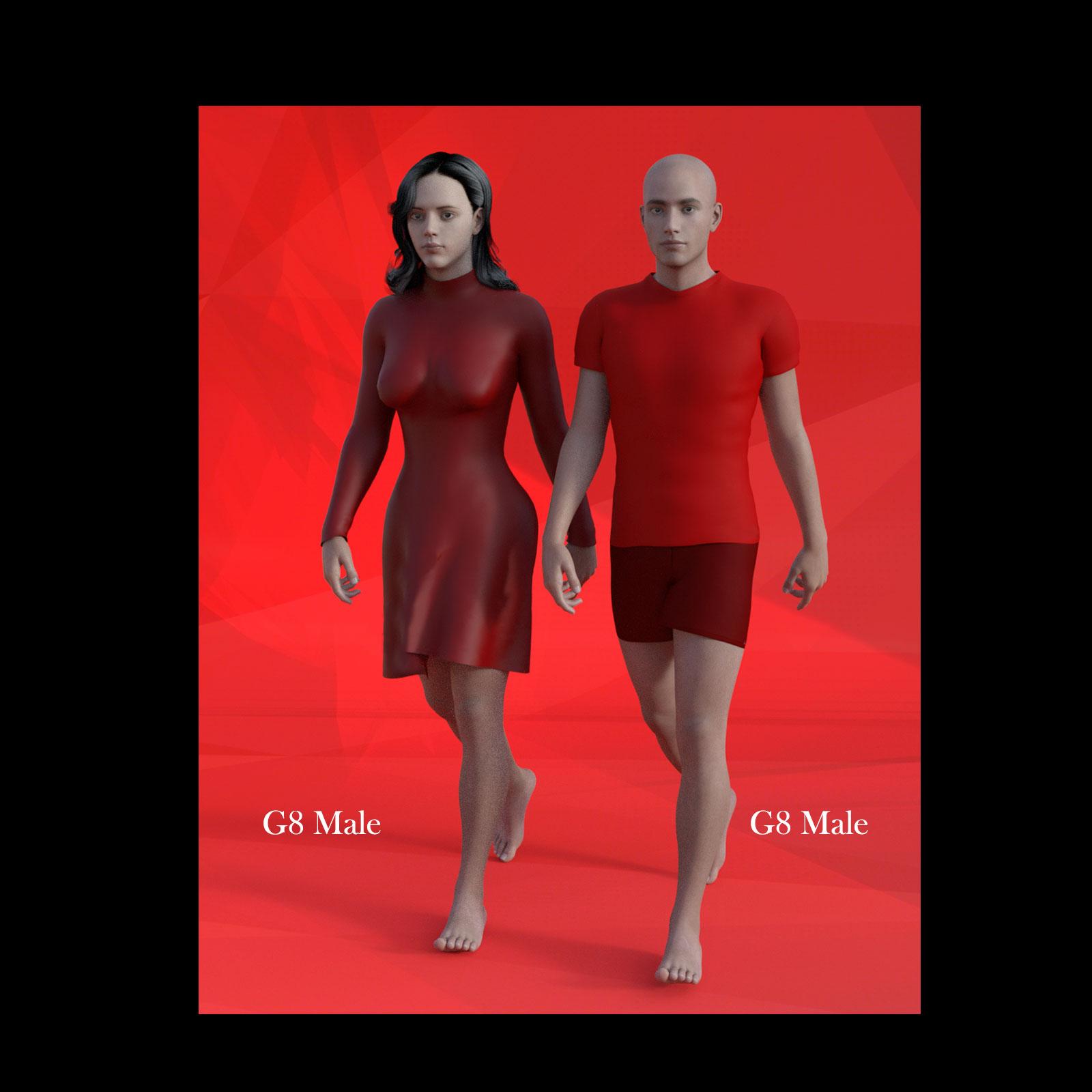 Female Body Morphs for Genesis 8 Male_DAZ3D下载站