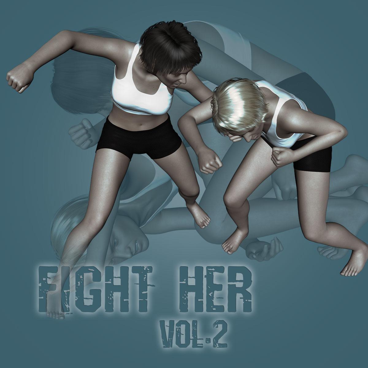 Fight Her vol.2 for Genesis 8 Female_DAZ3D下载站
