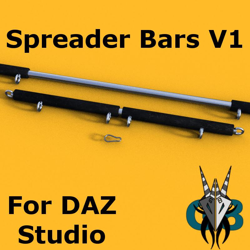 G8 Spreader Bars V1_DAZ3D下载站