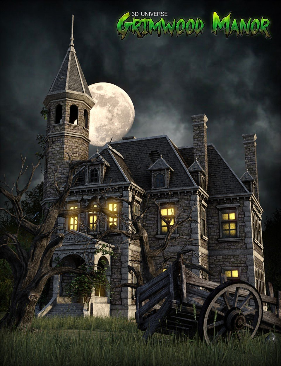 Grimwood Manor_DAZ3D下载站