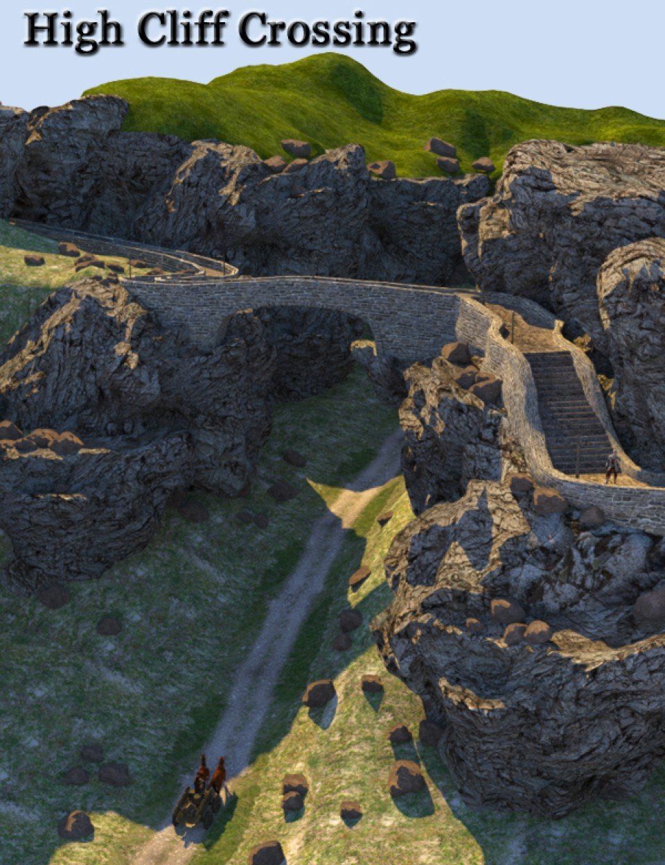 High Cliff Crossing_DAZ3D下载站