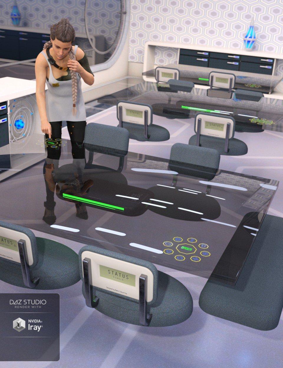 Hover Furniture_DAZ3D下载站