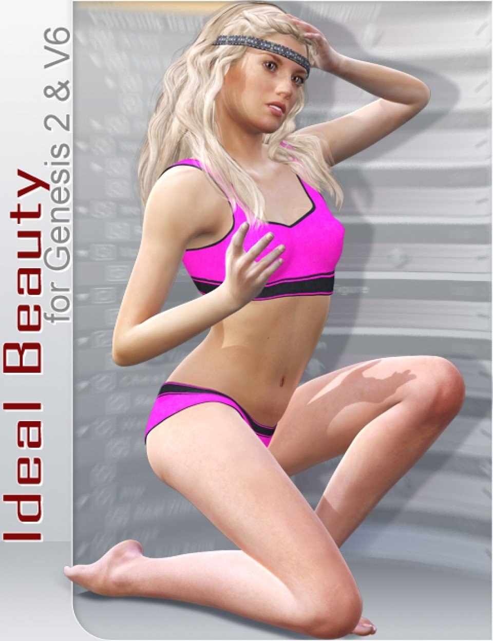 Ideal Beauty for Genesis 2 Female and V6_DAZ3D下载站