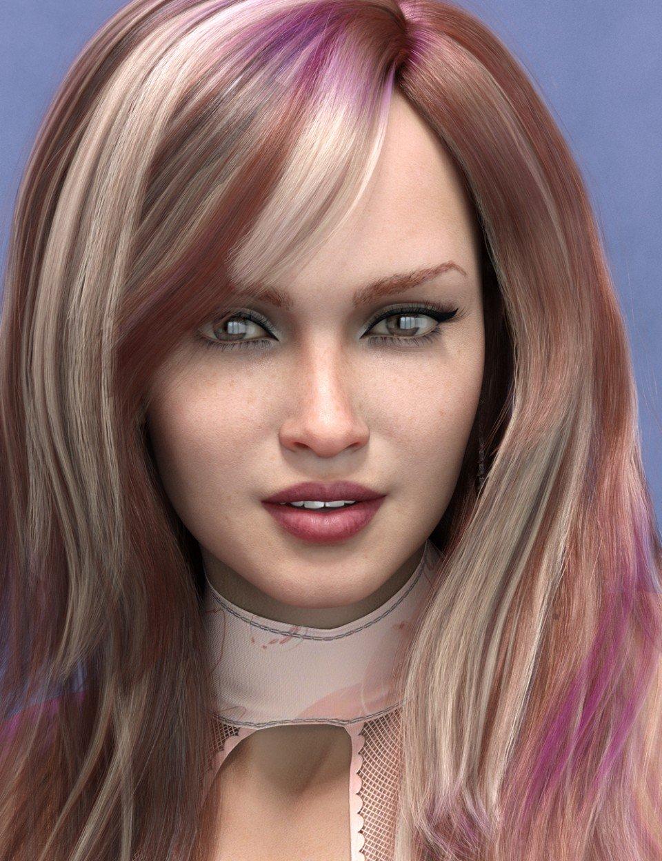 Imogen HD for Genesis 8 Female_DAZ3D下载站