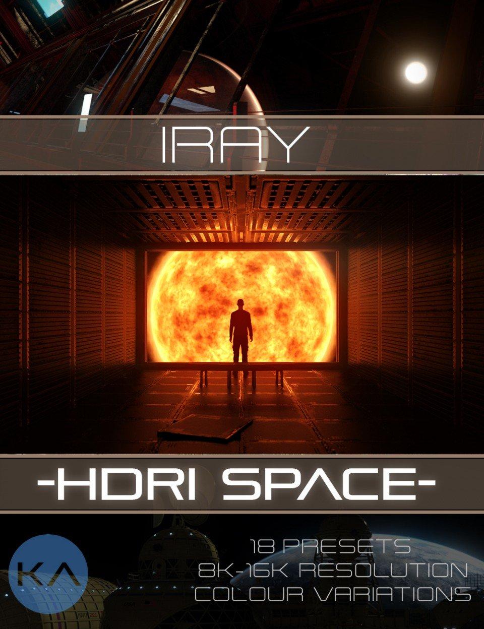 Iray HDRI Space_DAZ3D下载站