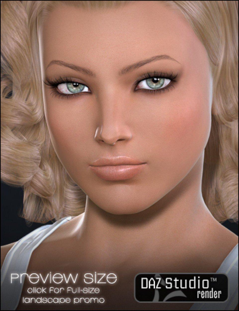 LR Kate for V4_DAZ3D下载站