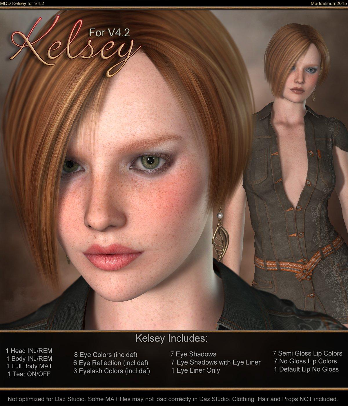 MDD Kelsey for V4.2_DAZ3D下载站