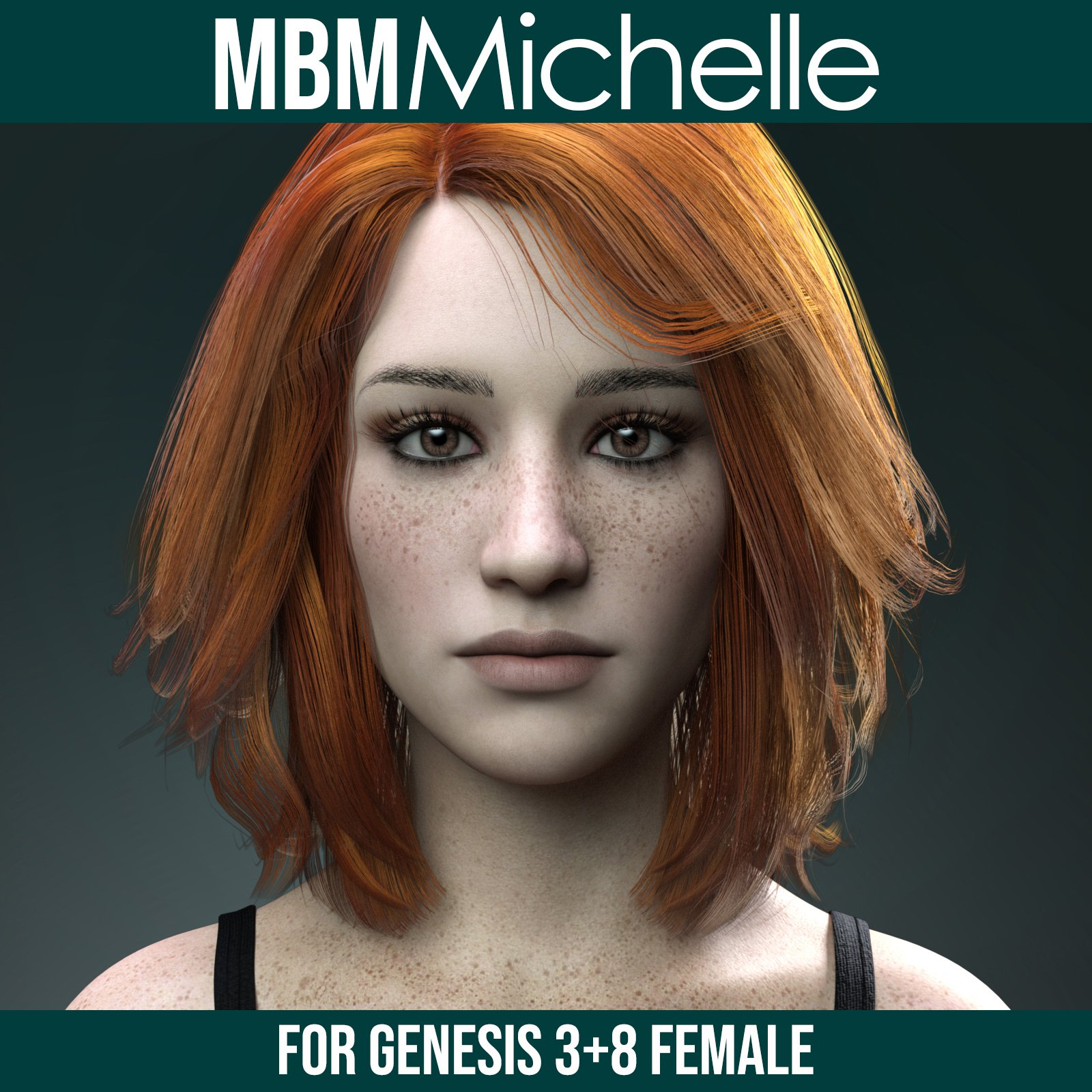MbM Michelle for Genesis 3 and 8 Female_DAZ3D下载站