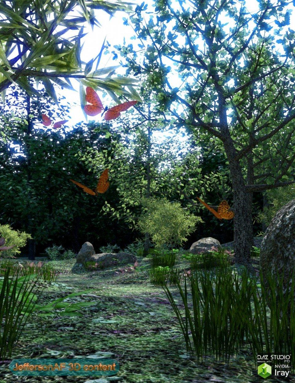 My Beautiful Forest_DAZ3D下载站