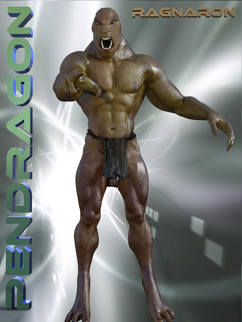 Ragnaron For Genesis 3 Male_DAZ3D下载站