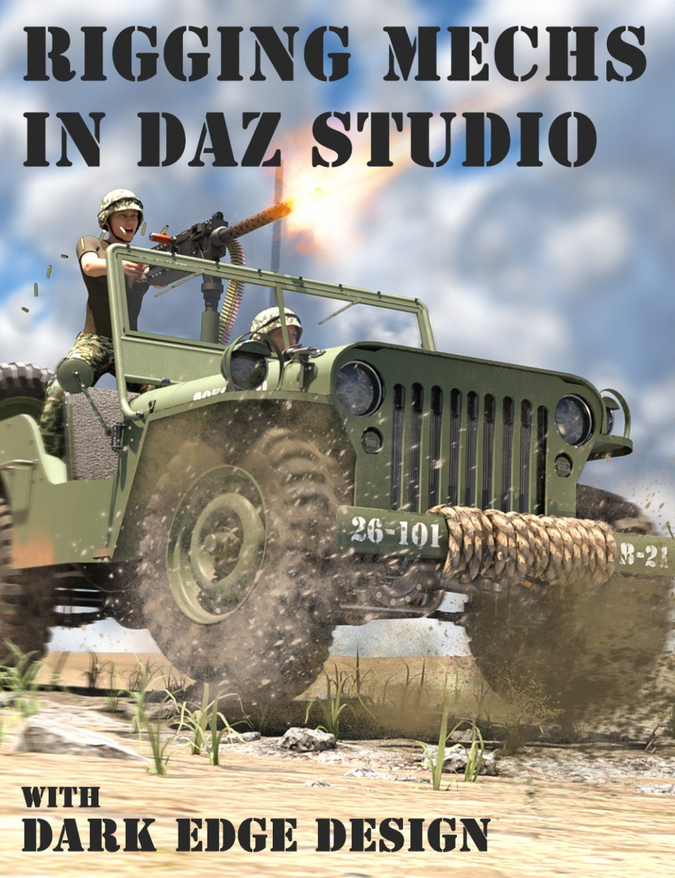 Rigging Vehicles and Mechs in Daz Studio_DAZ3D下载站