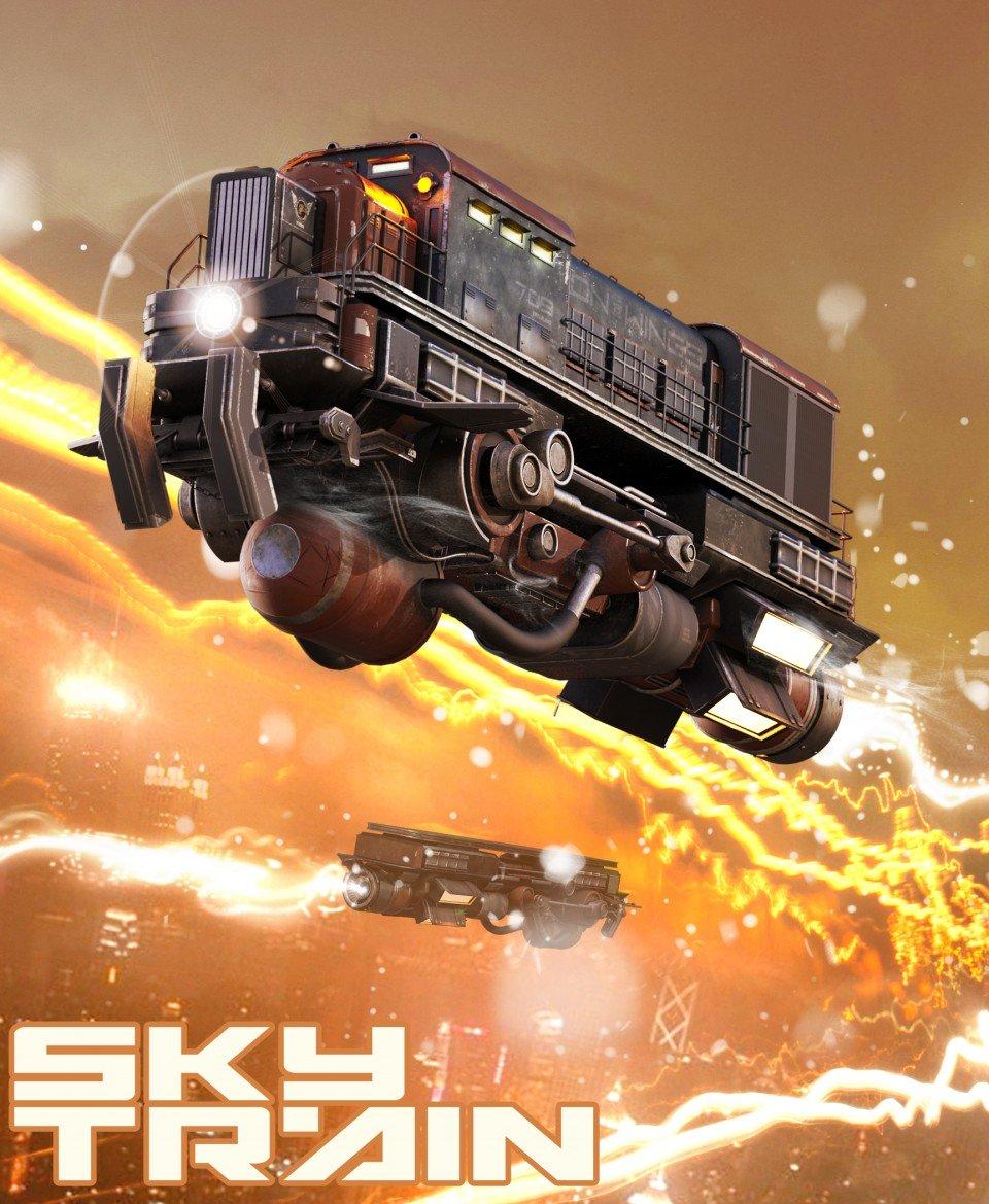 Sky Train_DAZ3D下载站