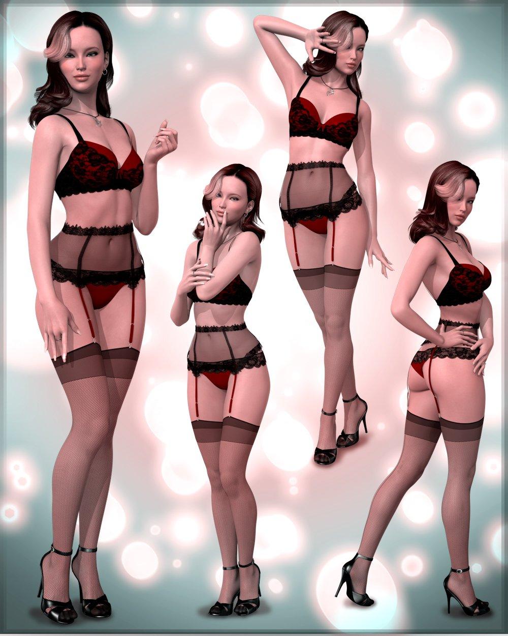 Subtly Sexy for Genesis 2 Females_DAZ3D下载站