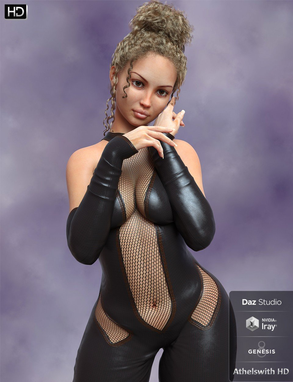 Athelswith HD for Genesis 8 Female_DAZ3D下载站