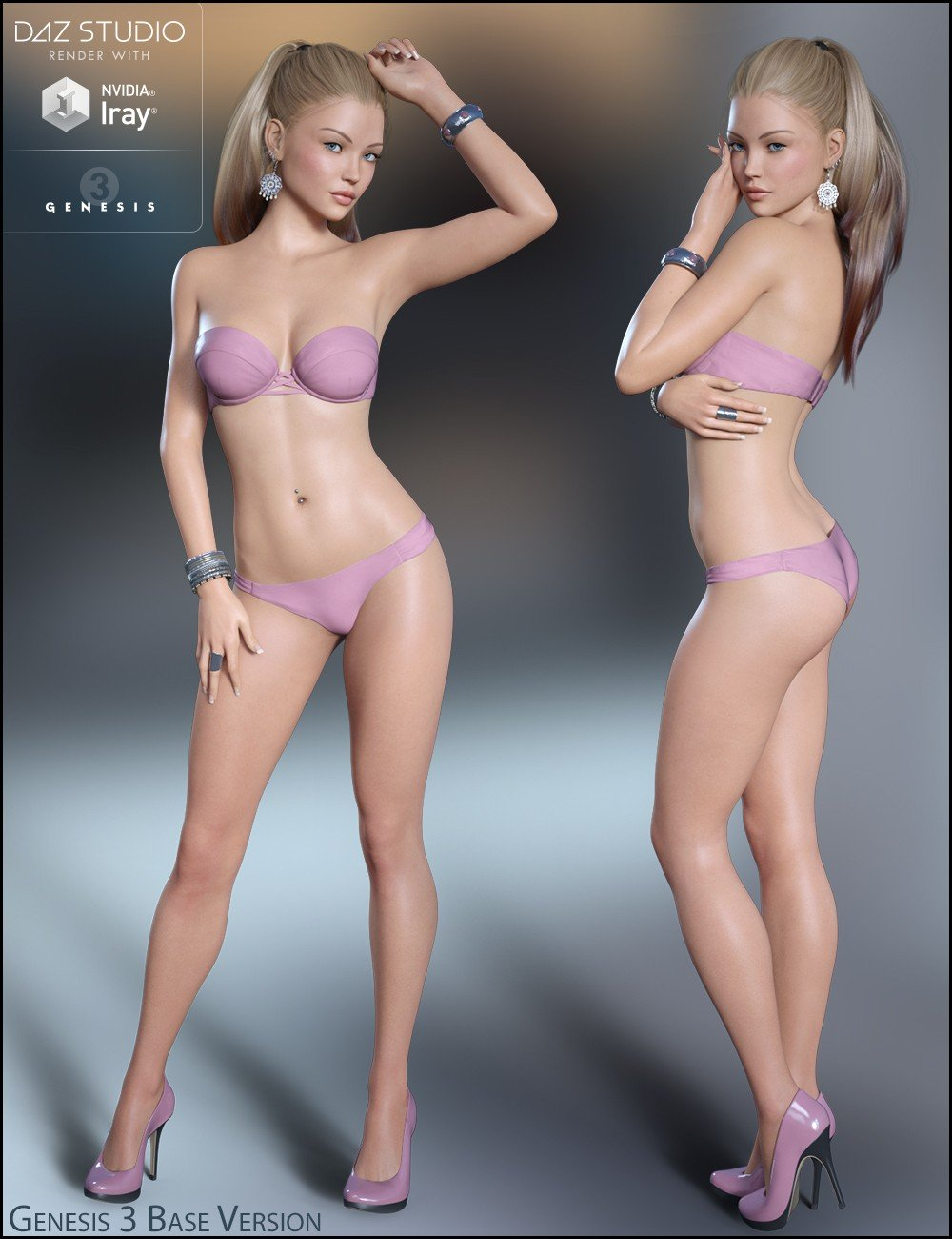 Brittany for Genesis 3 Female(s) and Victoria 7_DAZ3D下载站