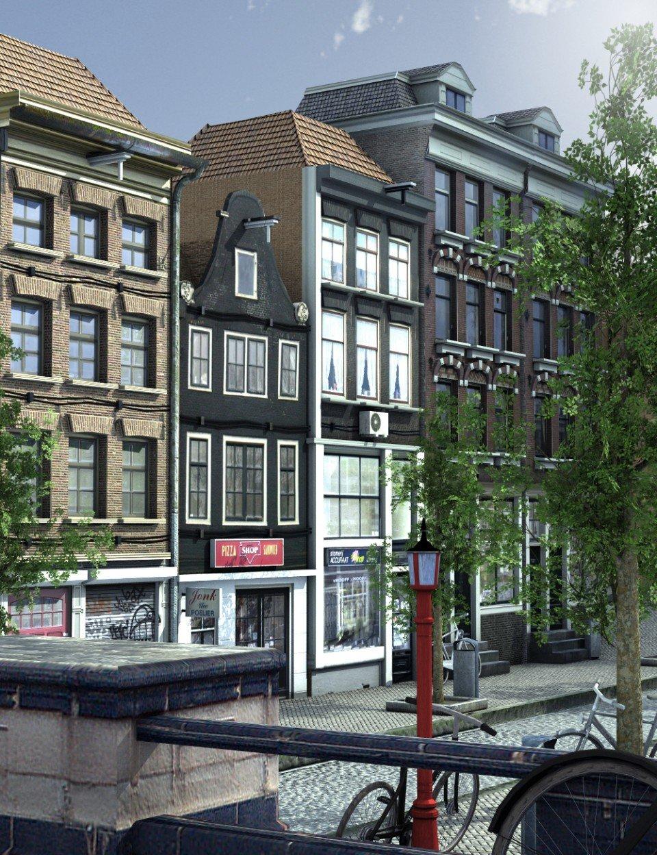 Canal Street_DAZ3D下载站