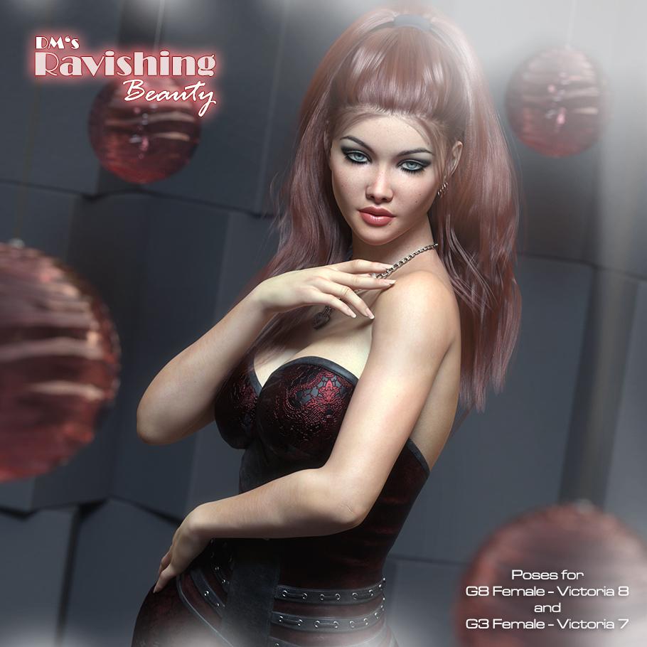 DMs Ravishing Beauty_DAZ3D下载站
