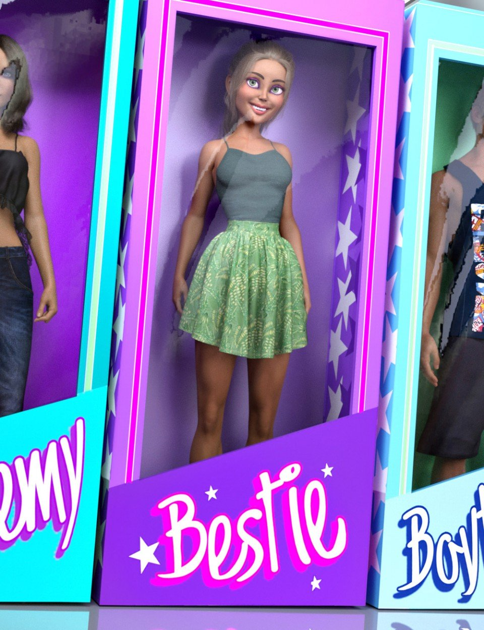 DP Bestie for The Girl 8_DAZ3D下载站