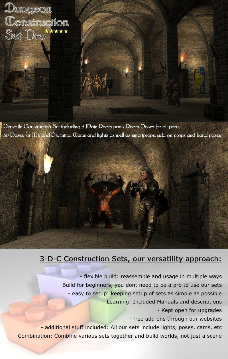 Dungeon Construction Set Pro by 3-D-C_DAZ3D下载站