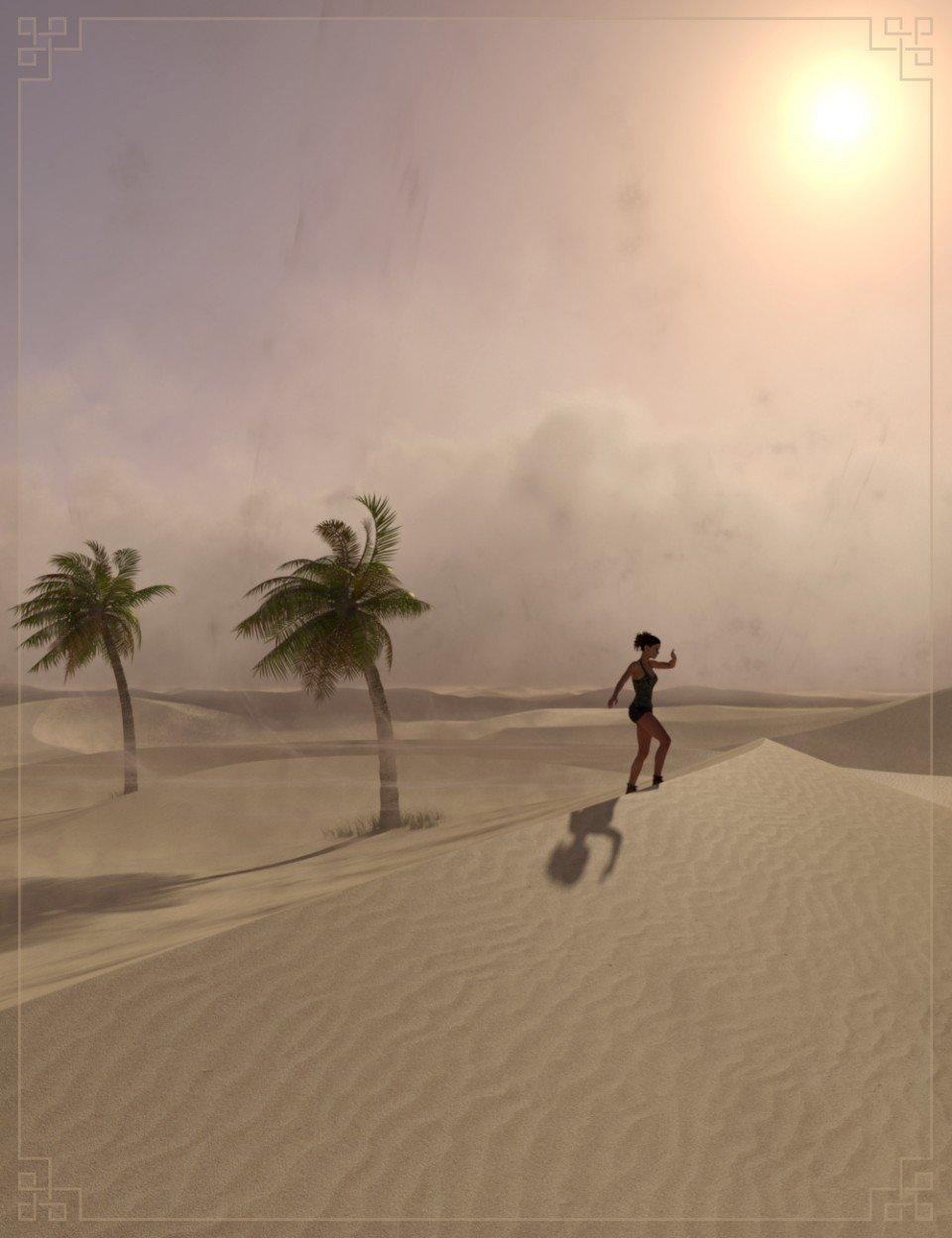 Easy Environments Sandstorm_DAZ3D下载站