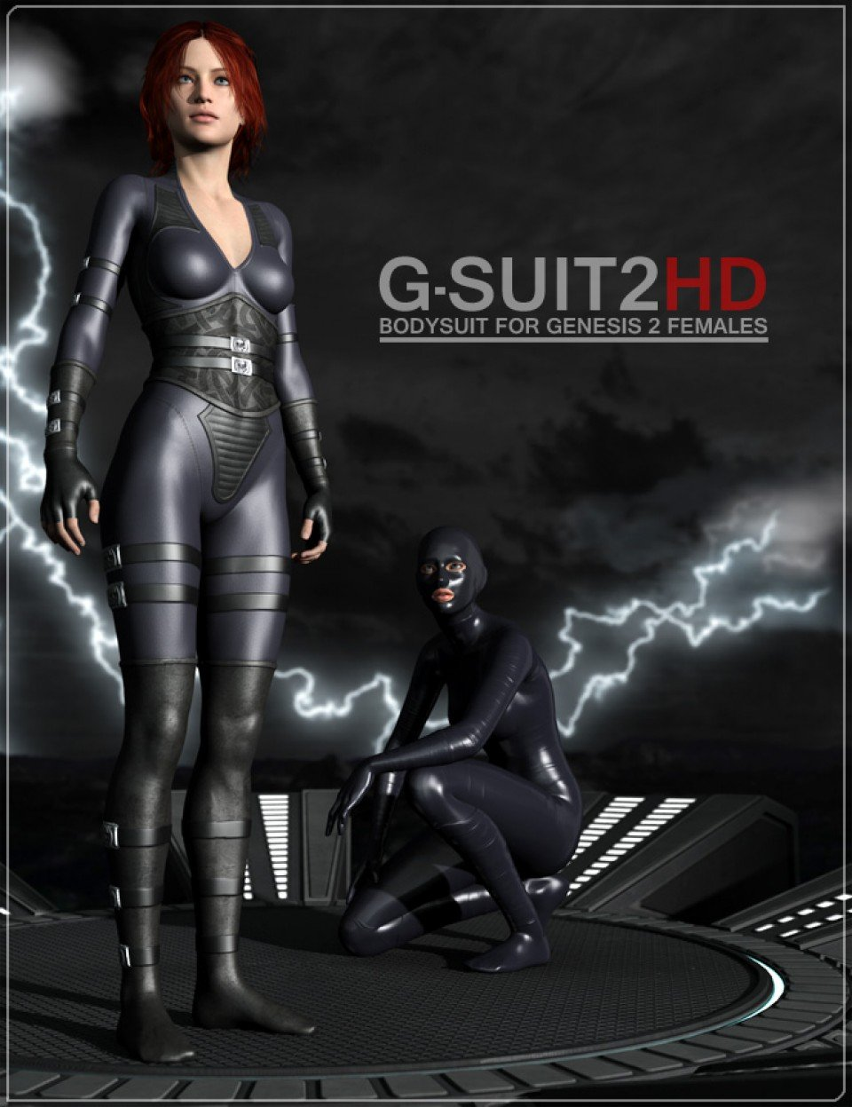 G-Suit 2 HD & Add-ons_DAZ3D下载站