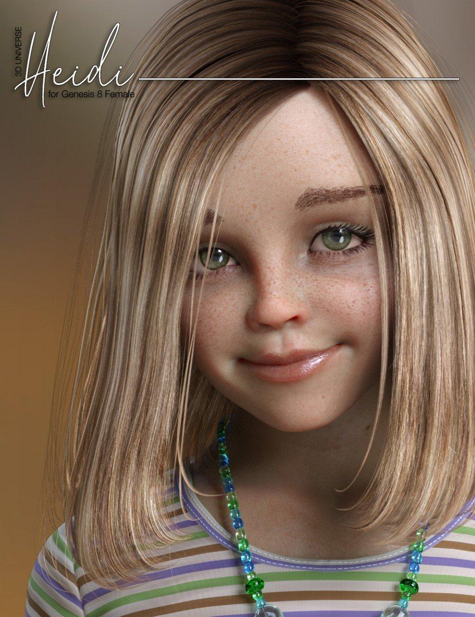 Heidi Bundle for Genesis 8 Female(s)_DAZ3D下载站