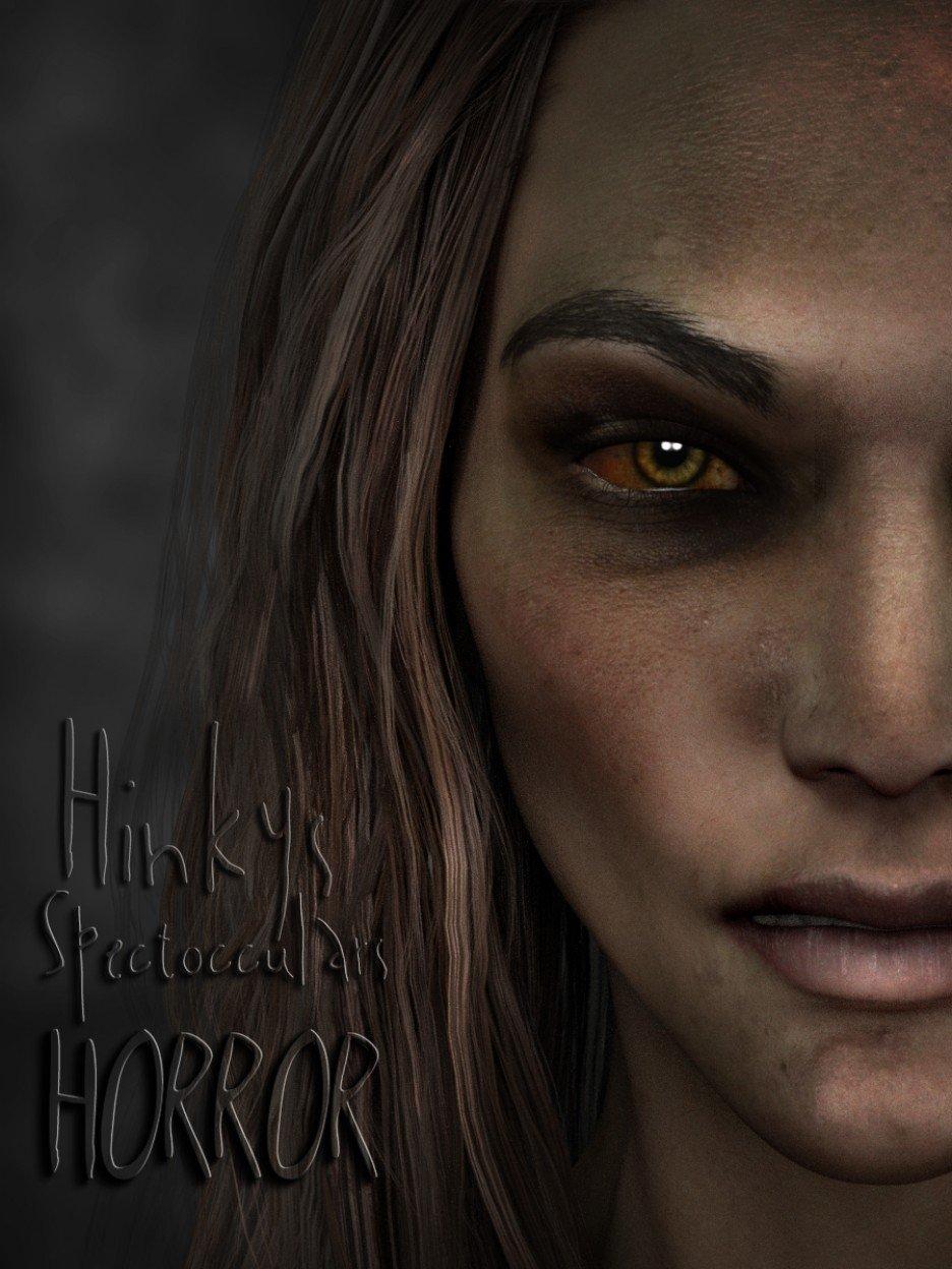Hinky's Spect-Occulars-Horror Eyes G3_DAZ3D下载站