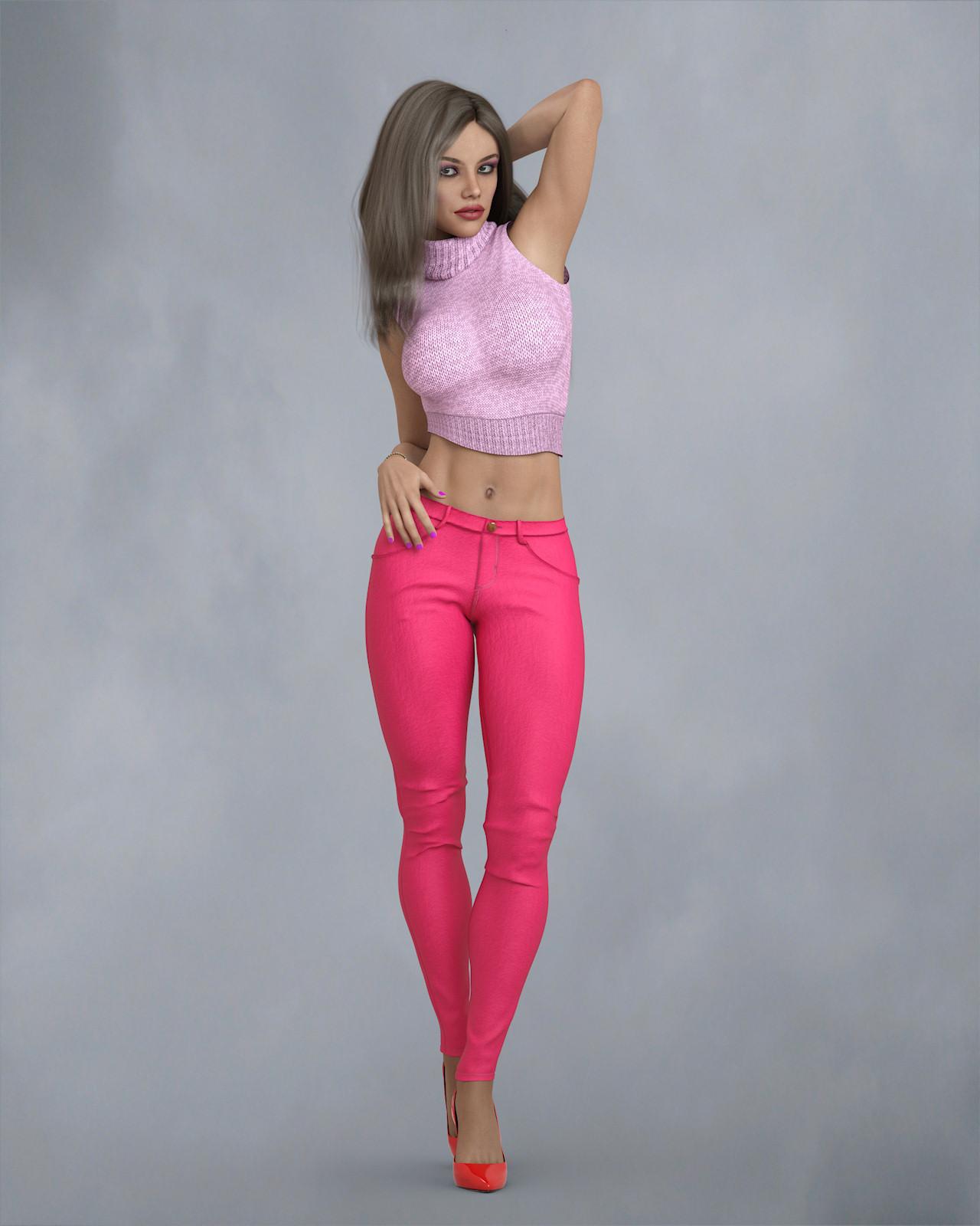 KrashWerks LAURISSA for Genesis 8 Female_DAZ3D下载站