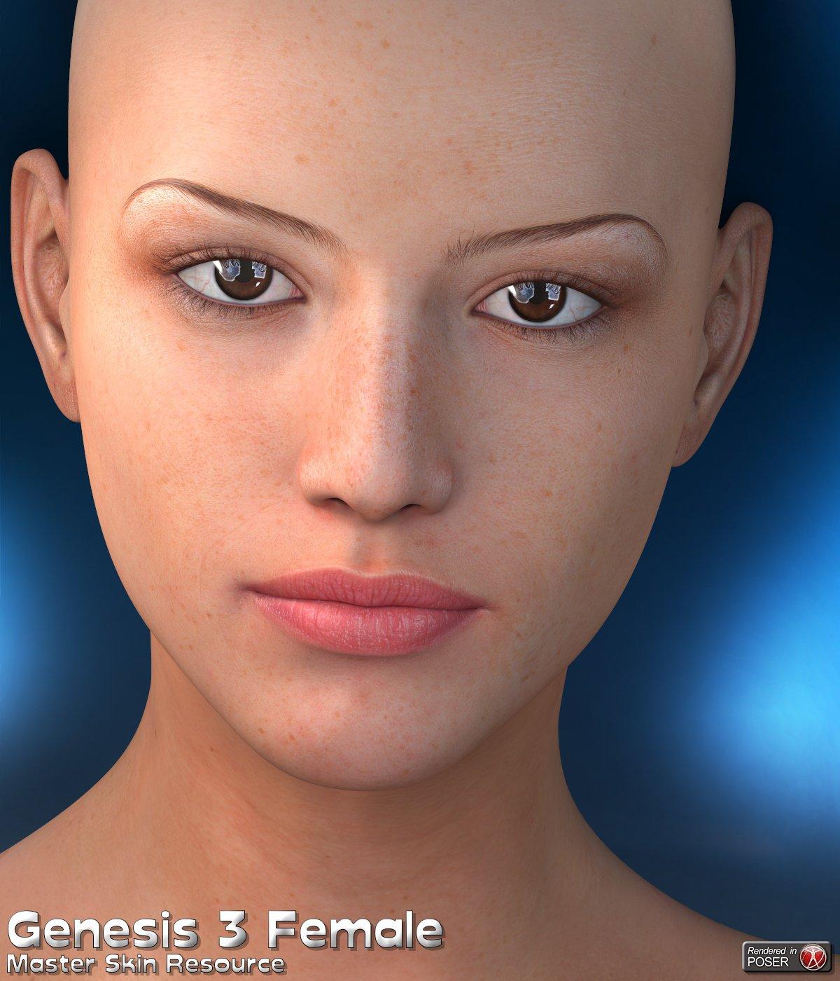 Master Skin Resource 10 – Genesis 3 Female + Genesis 8 Female_DAZ3D下载站