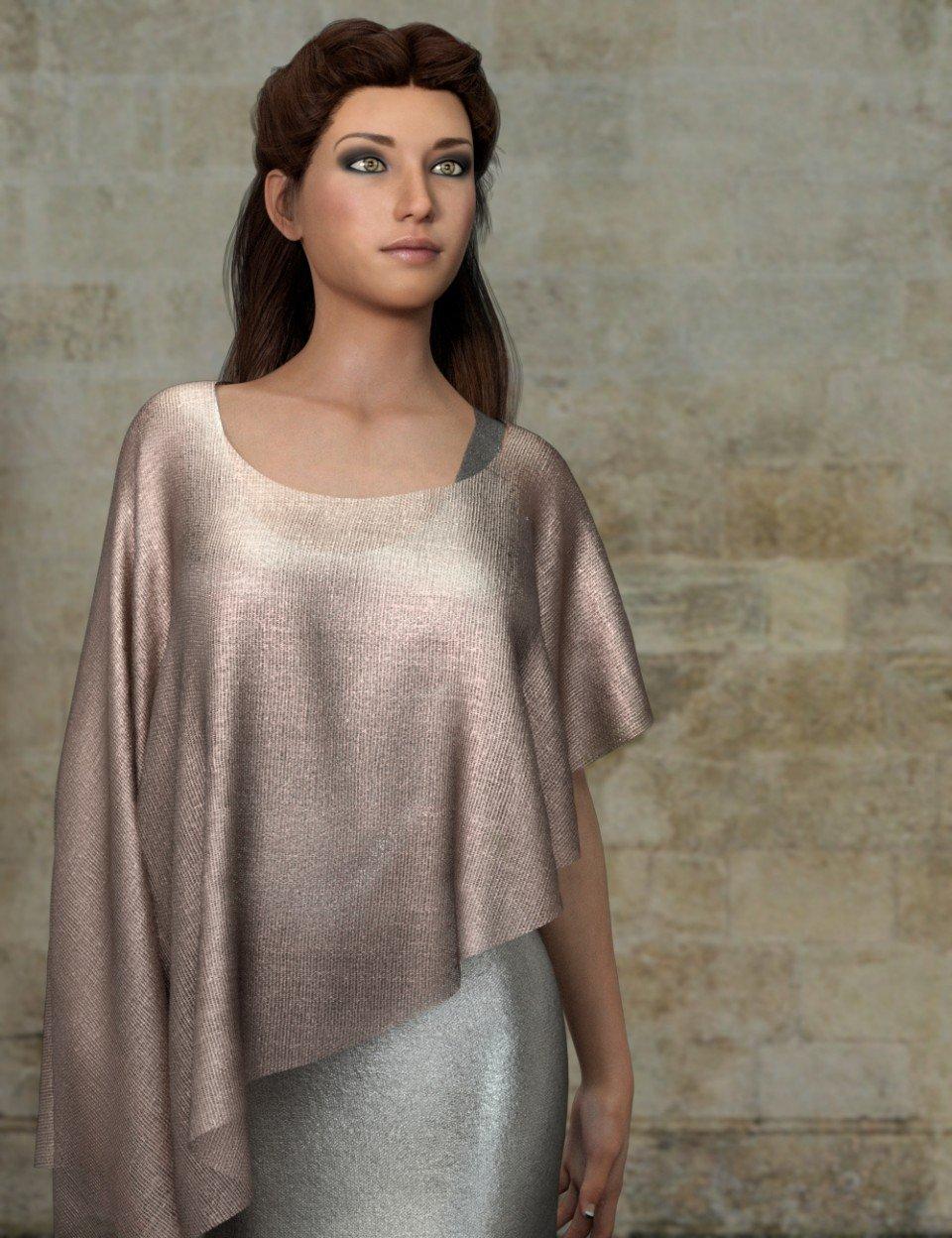 Sheer Metalic Fabrics for Iray_DAZ3D下载站