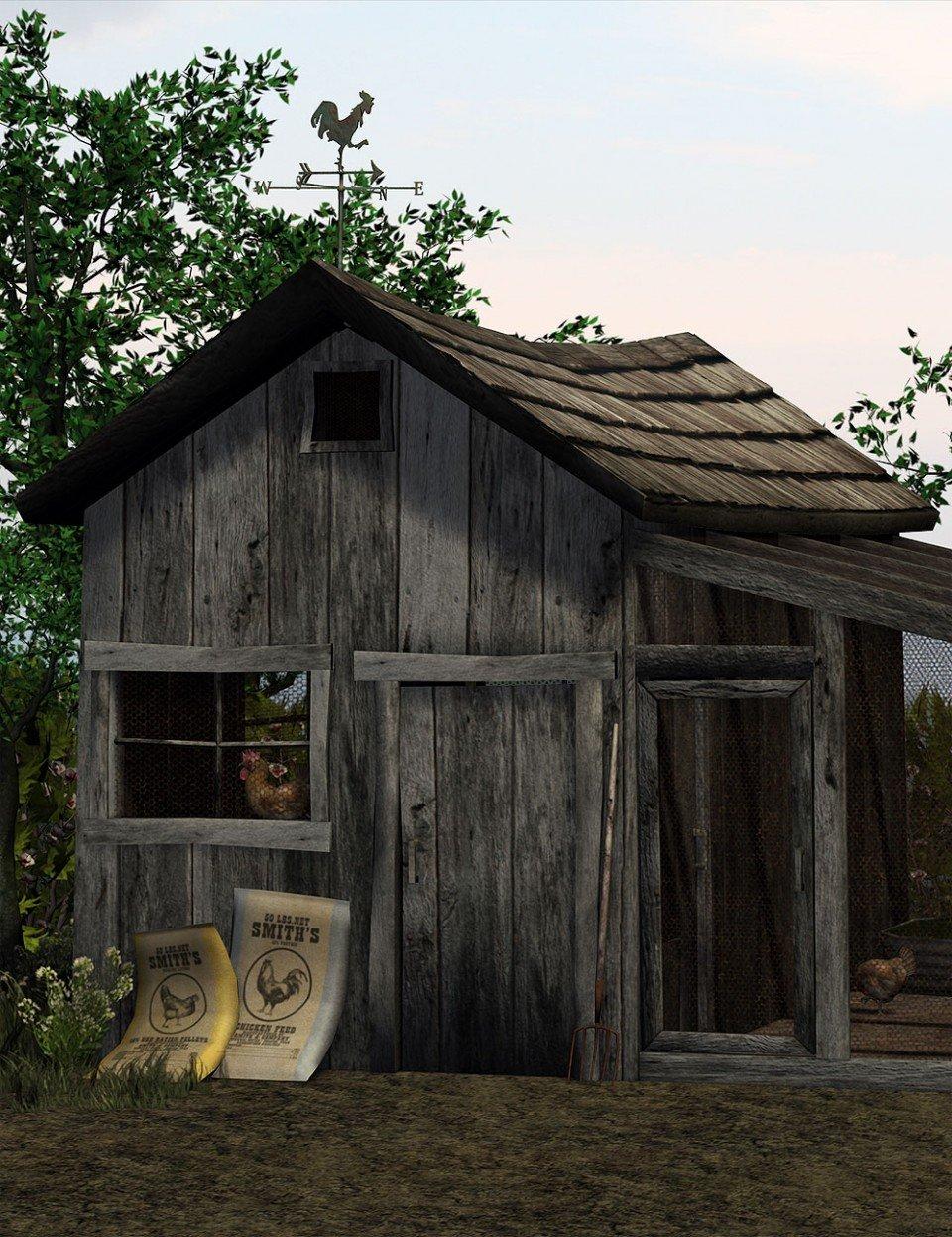 The Chicken Coop_DAZ3D下载站