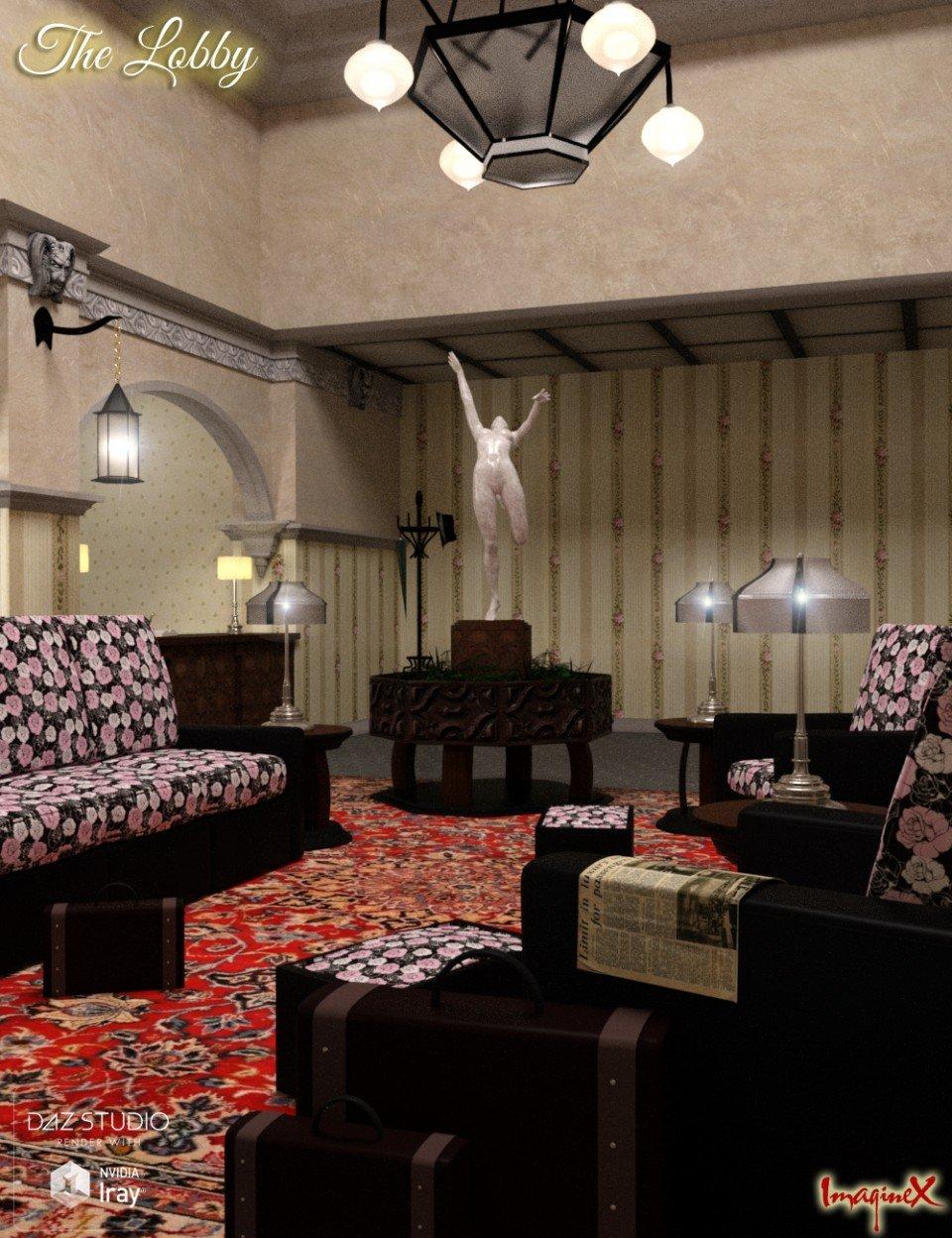 The Lobby_DAZ3D下载站