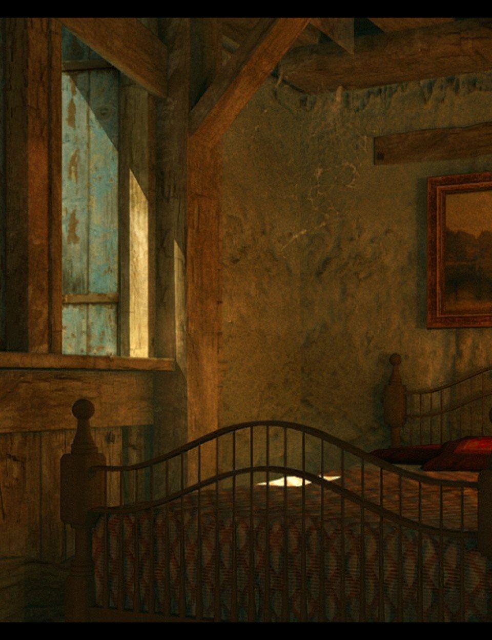 Village Bedroom_DAZ3D下载站