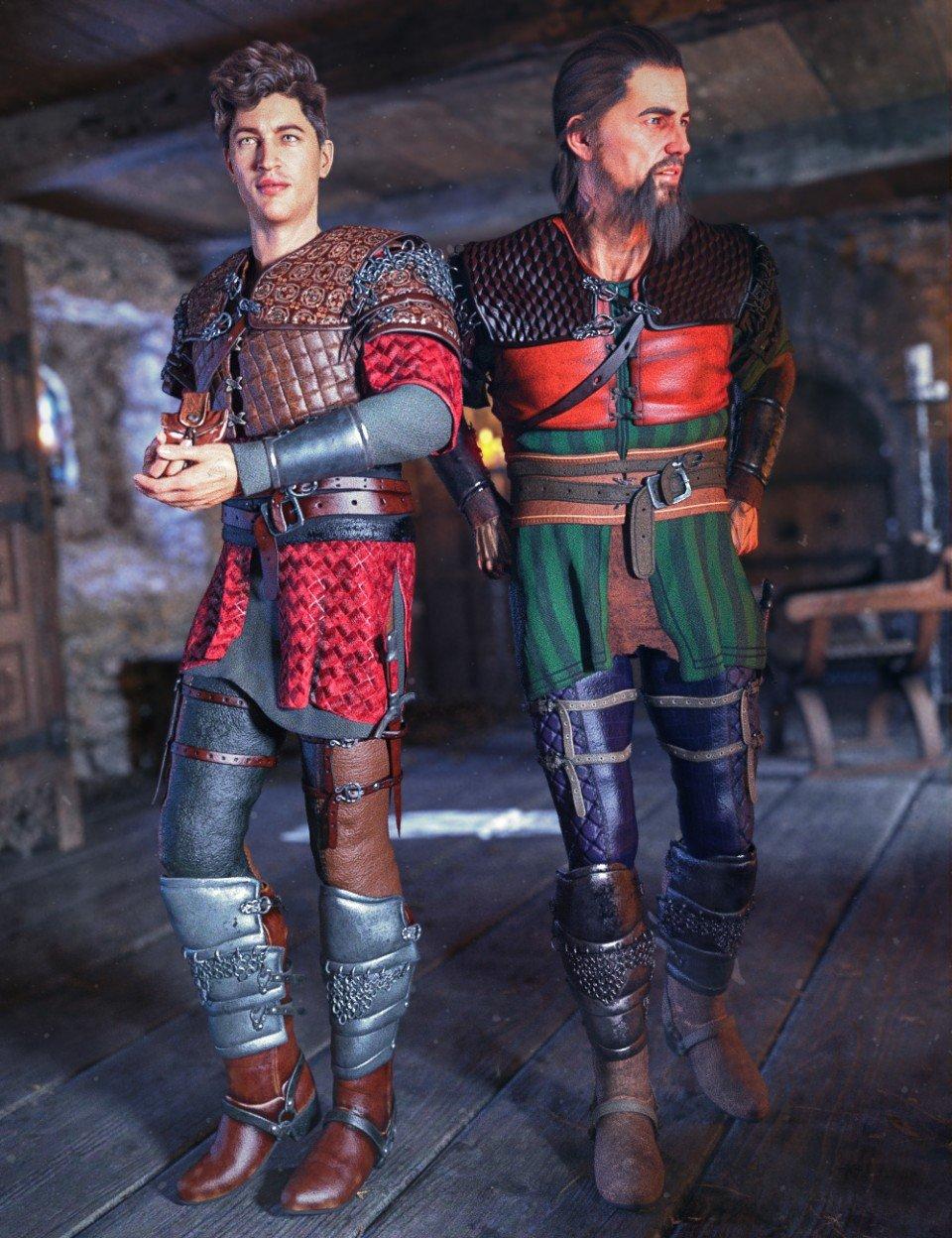 dForce Dark Lore Outfit Textures_DAZ3D下载站