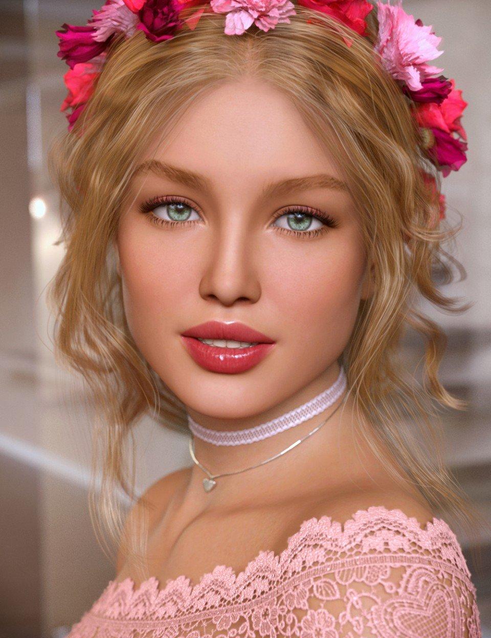 Adeline for Genesis 8 Female_DAZ3D下载站