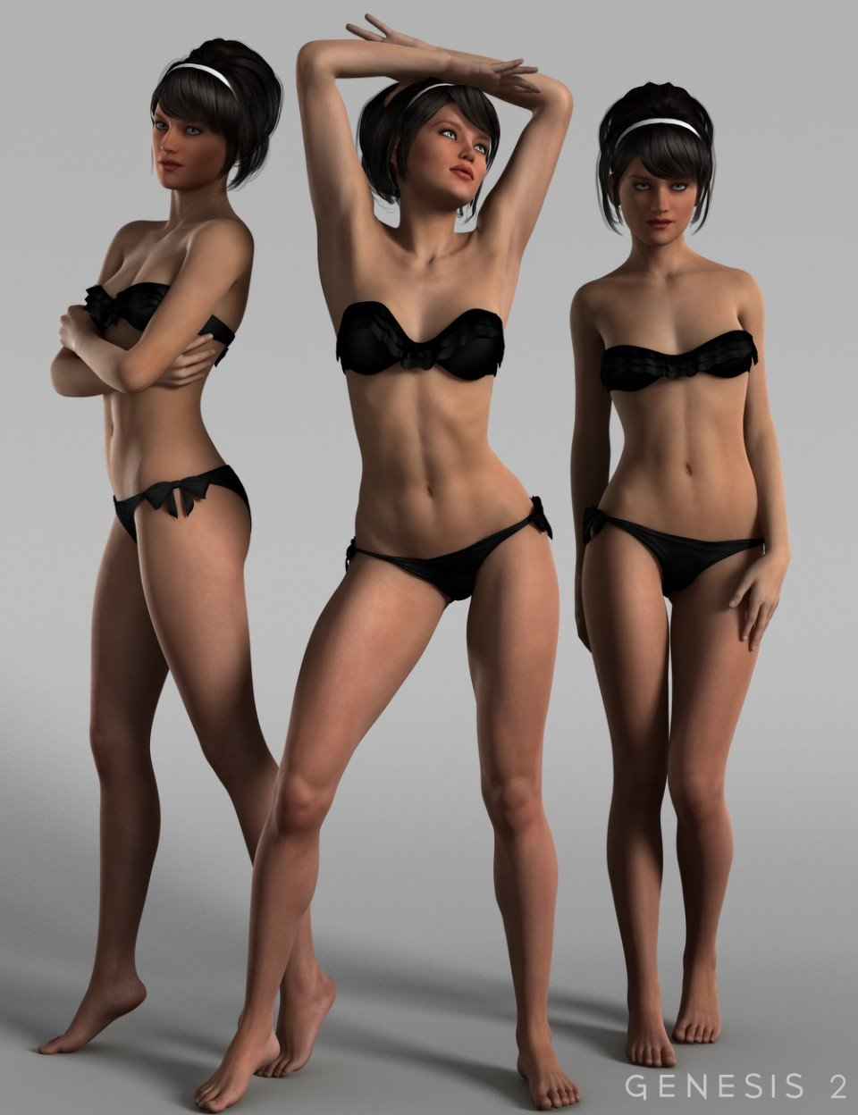 Dishy Delight Poses for Genesis 2 Female(s)_DAZ3D下载站