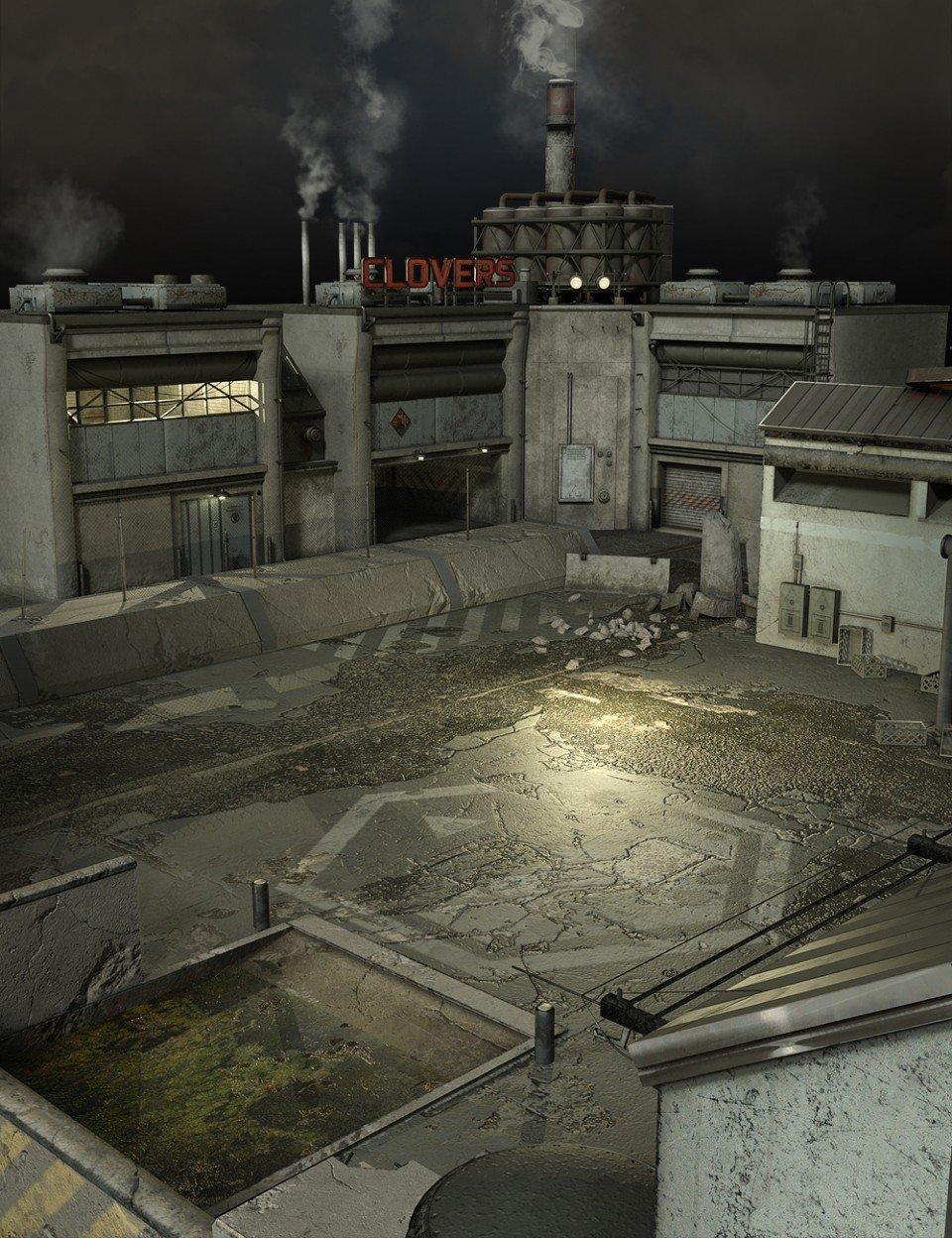 Forgotten Factory Add On_DAZ3D下载站