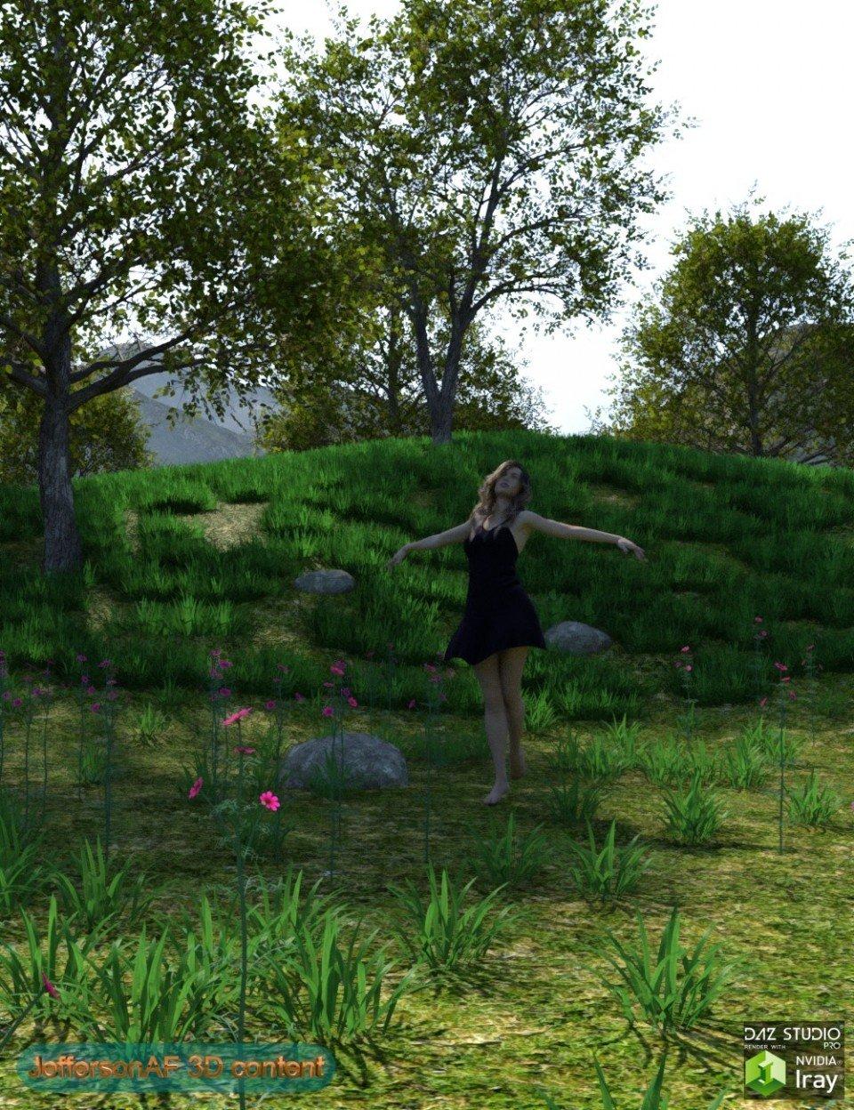 Grassy Hills_DAZ3D下载站
