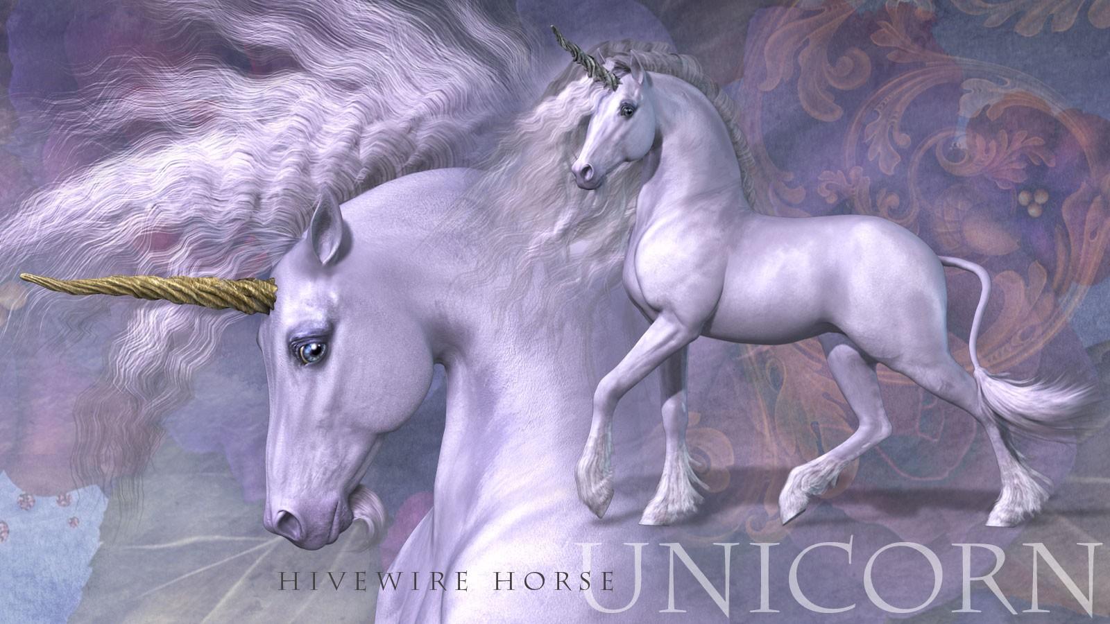 HiveWire Unicorn_DAZ3D下载站