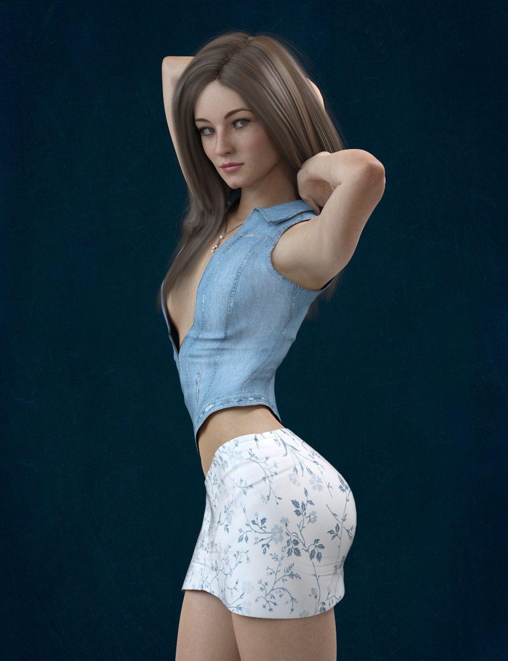KrashWerks GINA for Genesis 8 Female_DAZ3D下载站