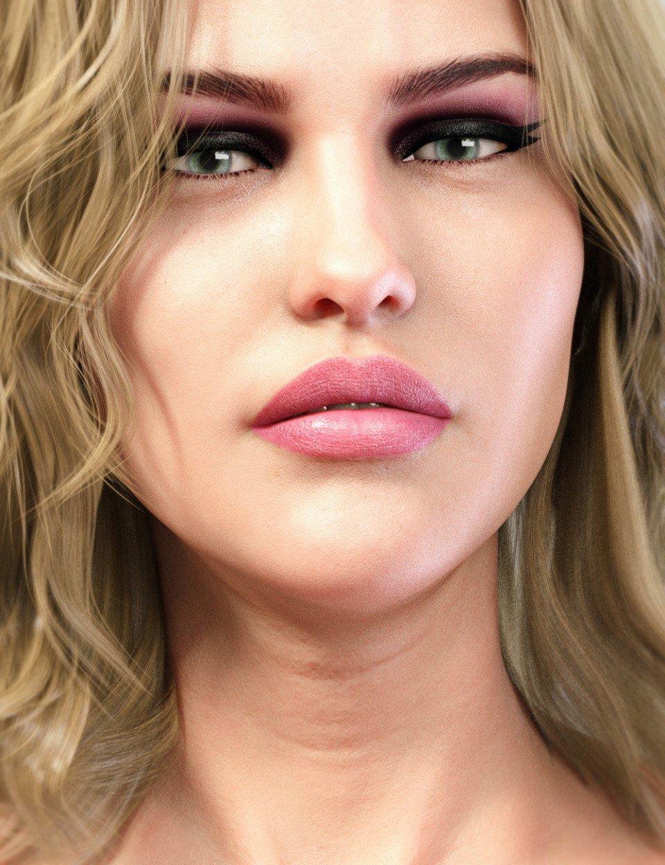 LIE Make-Up Set for Genesis 8 Female_DAZ3D下载站
