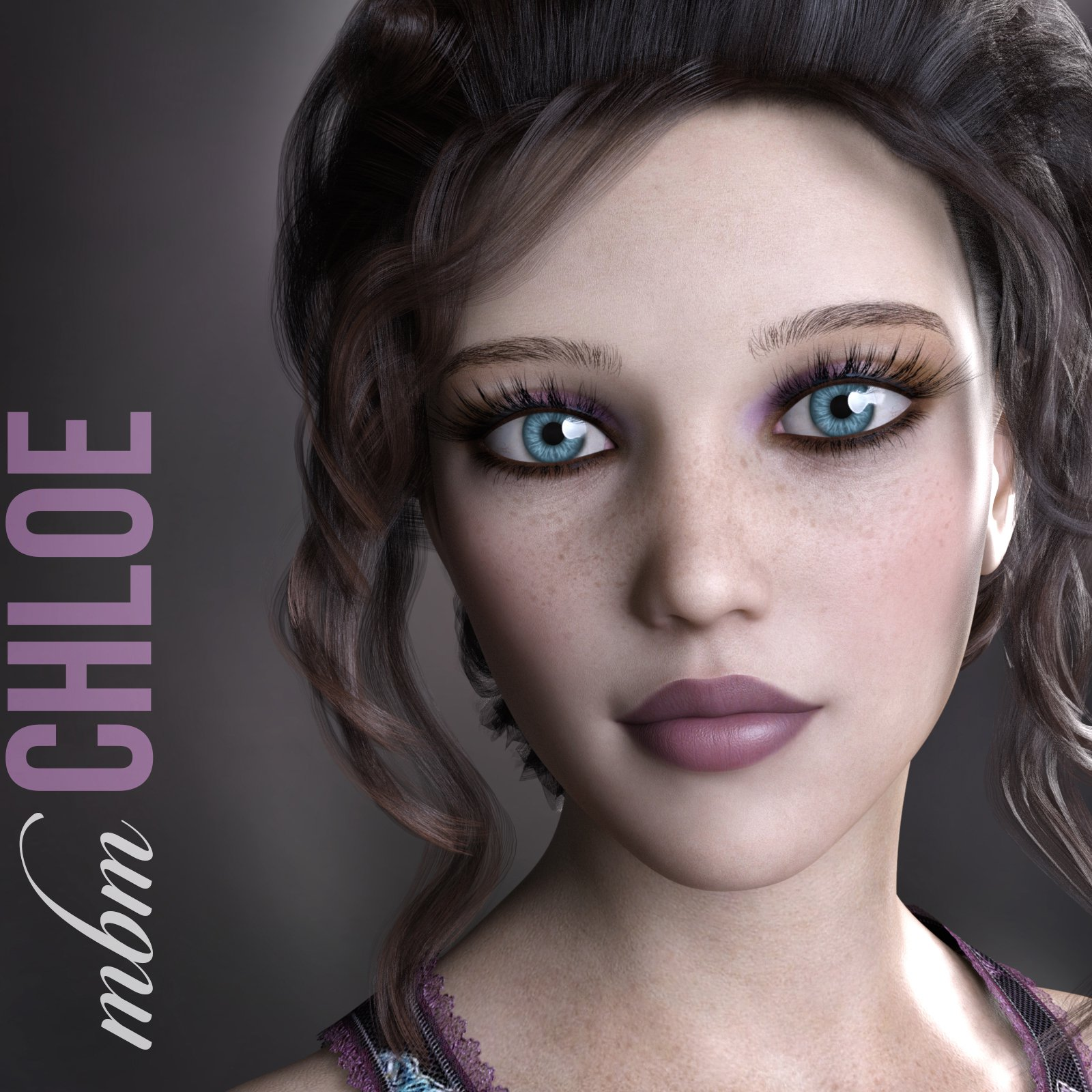 MbM Chloe for Genesis 3 & 8 Female_DAZ3D下载站