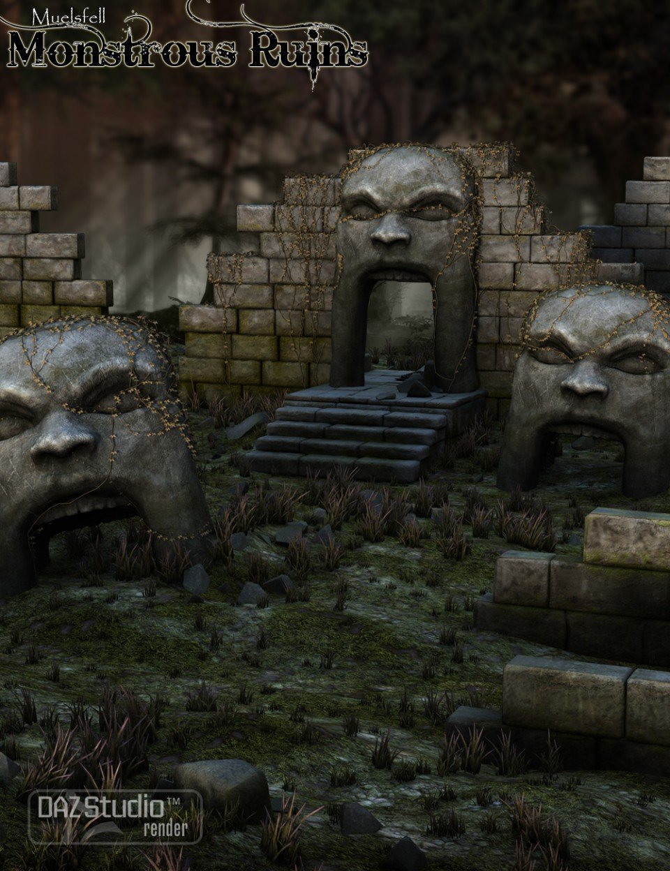 Muelsfell Monstrous Ruins_DAZ3D下载站