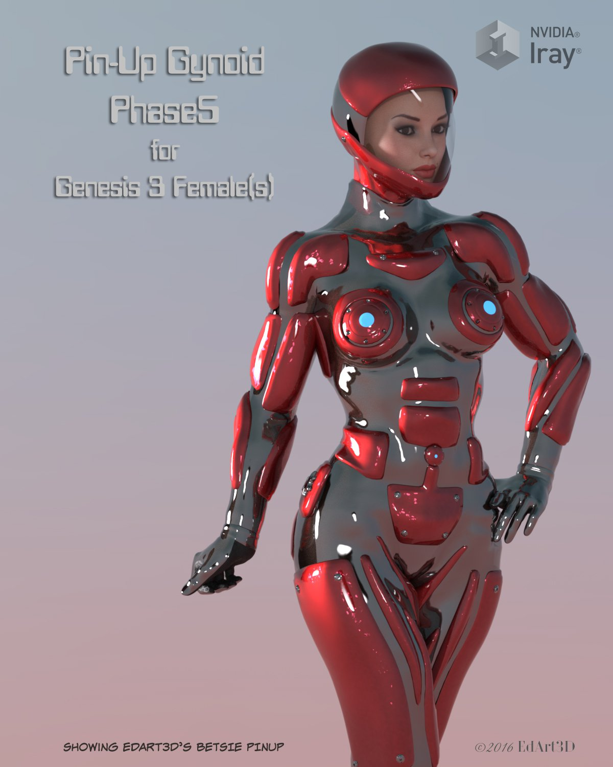 Pin-Up Gynoid Phase5 for G3F_DAZ3D下载站