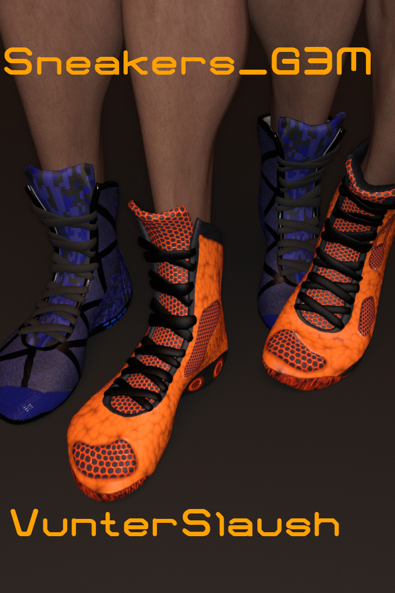 Sneaker G3M_DAZ3D下载站