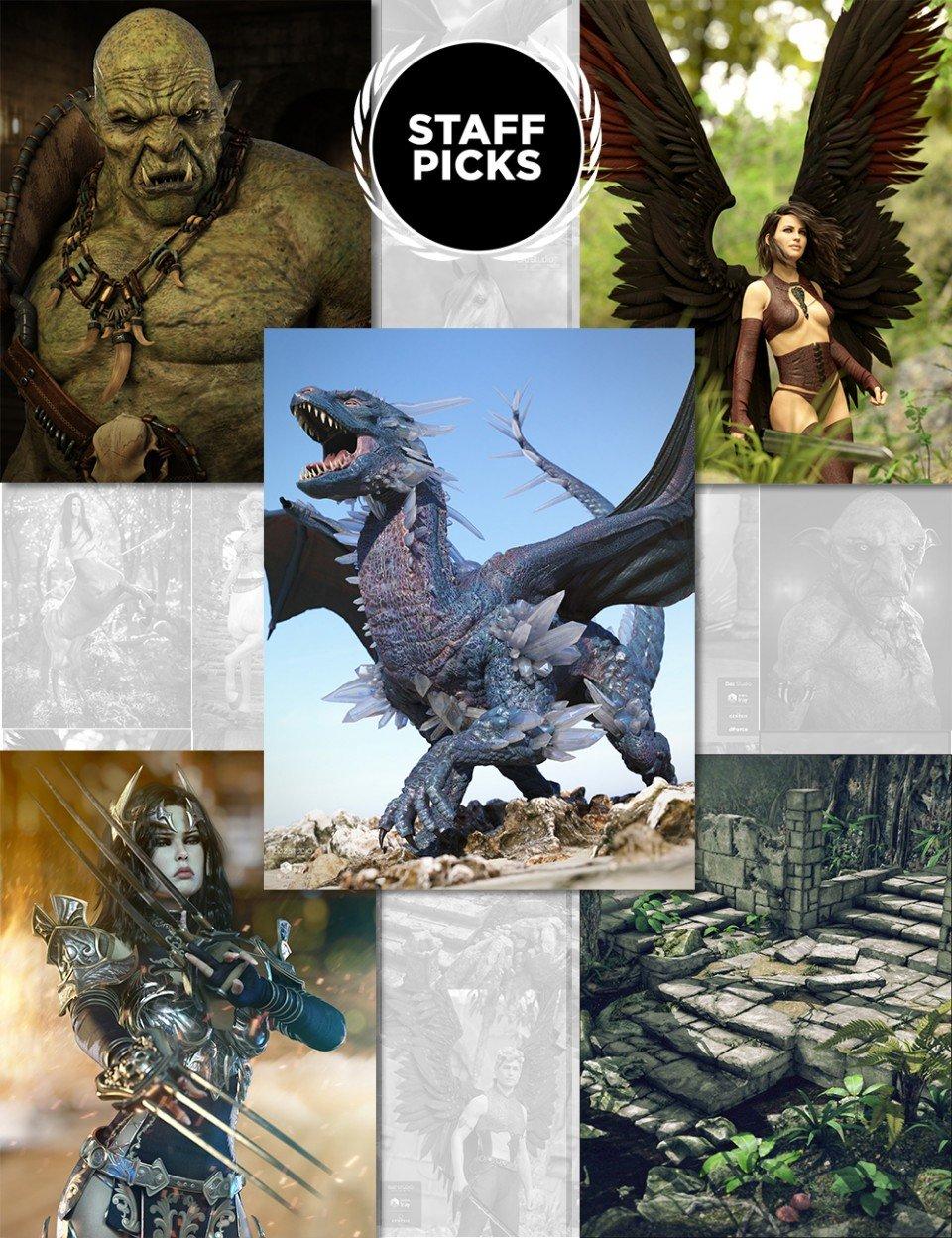 Staff Picks Fantasy Mega Bundle_DAZ3D下载站