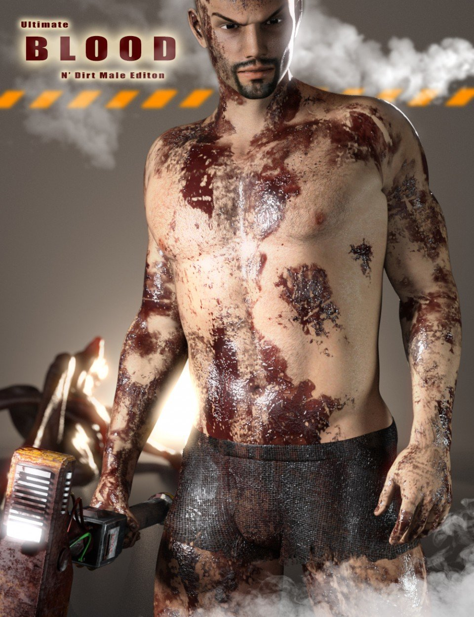 Ultimate Blood 'n Dirt for Genesis 3 Male(s)_DAZ3D下载站