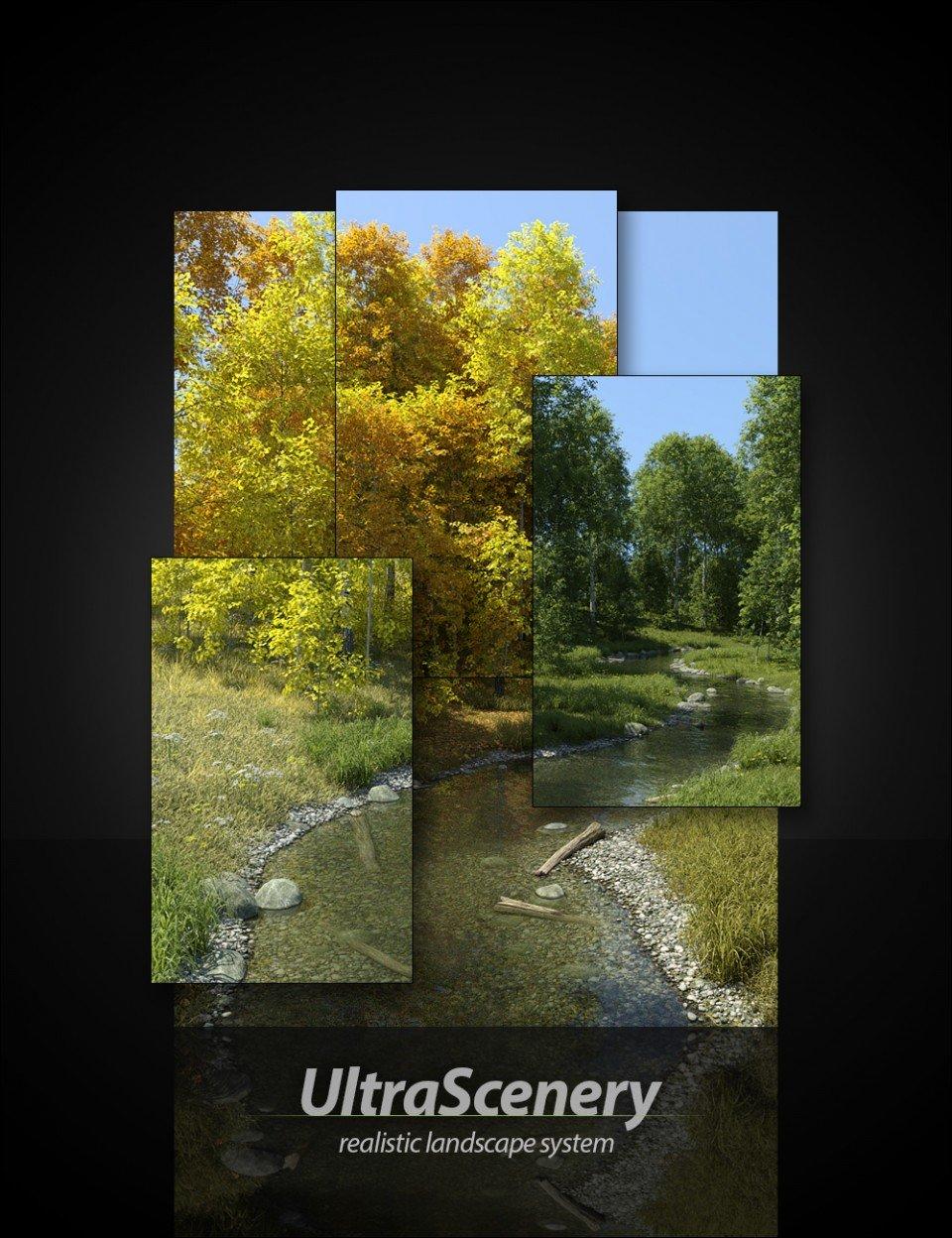 UltraScenery – Realistic Landscape System_DAZ3D下载站