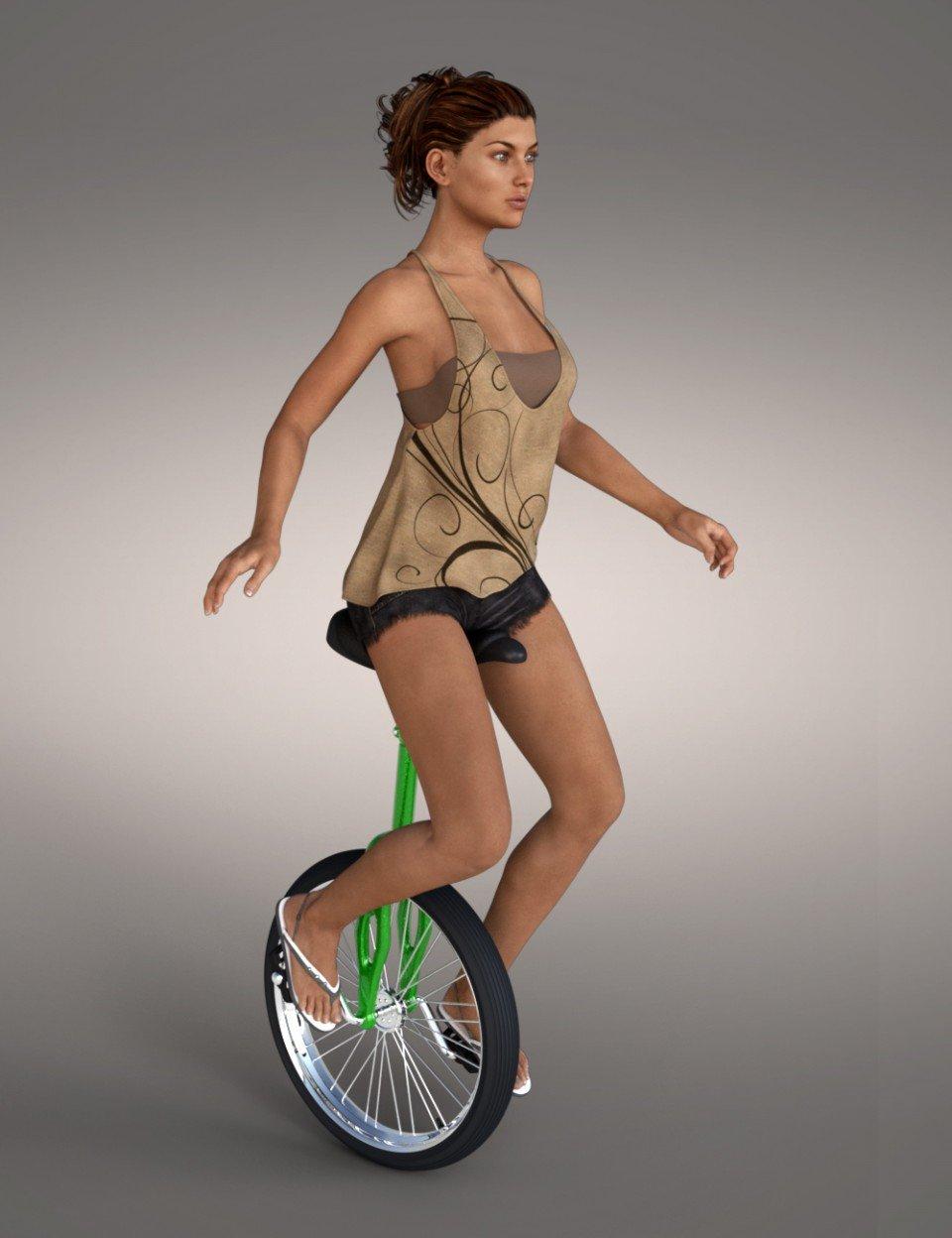 Unicycle_DAZ3D下载站